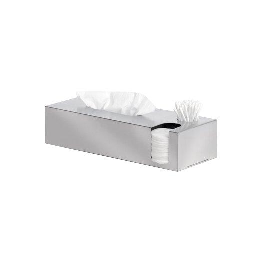 Blomus Nexio Tissue Box & Cotton Swab Dispenser