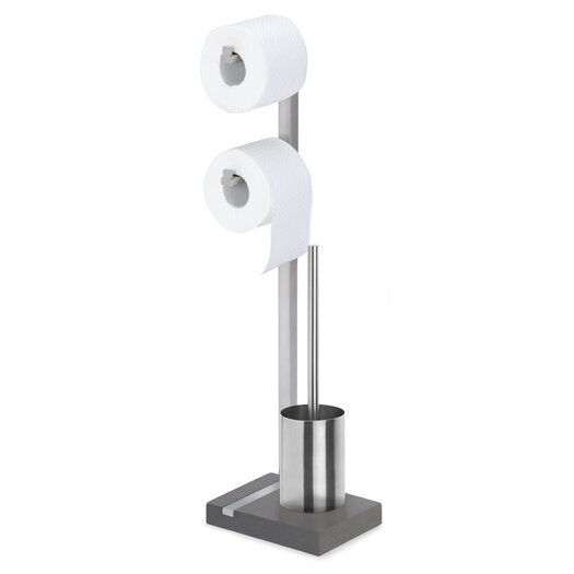 Blomus Menoto Free Standing Toilet Brush Set