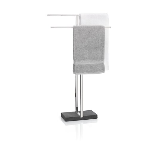 Blomus Menoto Freestanding Stainless Steel Polished Towel Stand