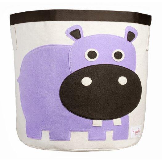 3 Sprouts Hippo Storage Bin