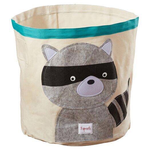 3 Sprouts Raccoon Storage Bin