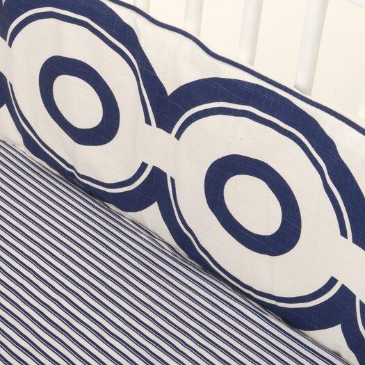 Oilo Solid Brand Crib Skirt