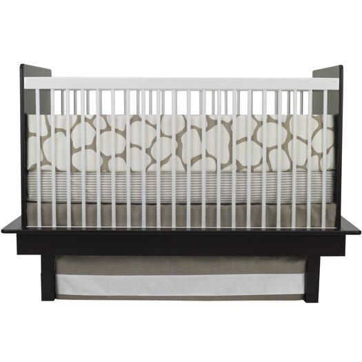 Cobblestone 3 Piece Crib Bedding Set