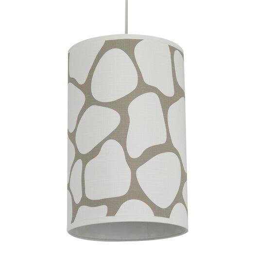 Oilo Cobblestone 1 Light Cylinder Drum Pendant