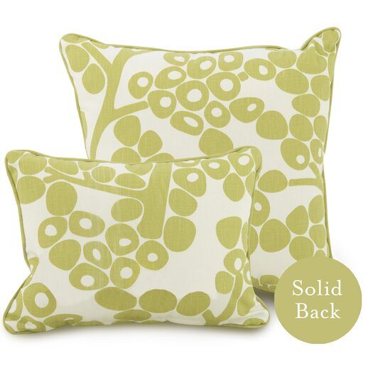 Oilo Modern Berries Cotton Throw Pillow