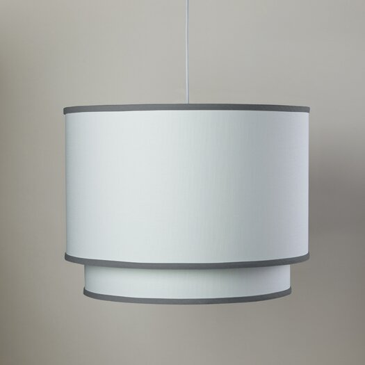 Oilo 3 Light Double Cylinder Pendant