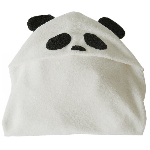 Satsuma Designs LLC Panda Bamboo Hooded Towel