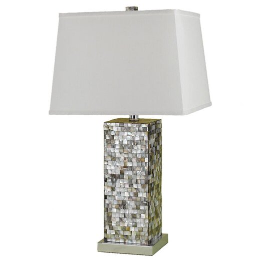 """AF Lighting Sahara 27"""" H Table Lamp with Empire Shade"""