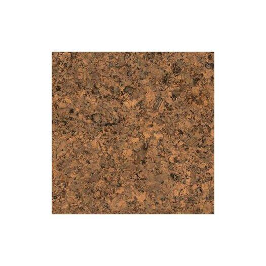 "US Floors 12"" Cork Hardwood Flooring in Tabac Matte"
