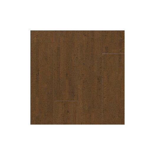 "US Floors Almada 4-1/8"" Engineered Cork Hardwood Flooring in Fila Caf"