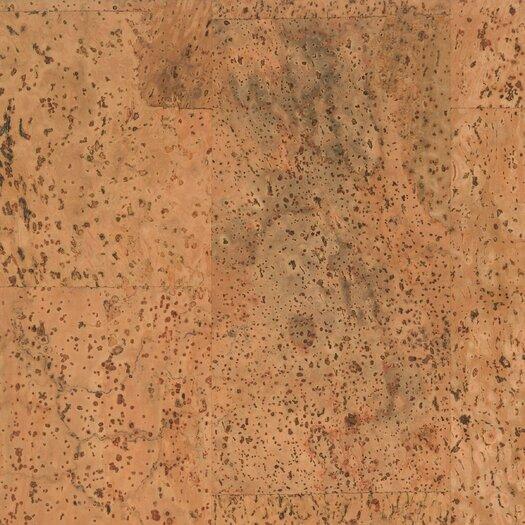 "US Floors 12"" Cork Hardwood Flooring in Merida Matte"