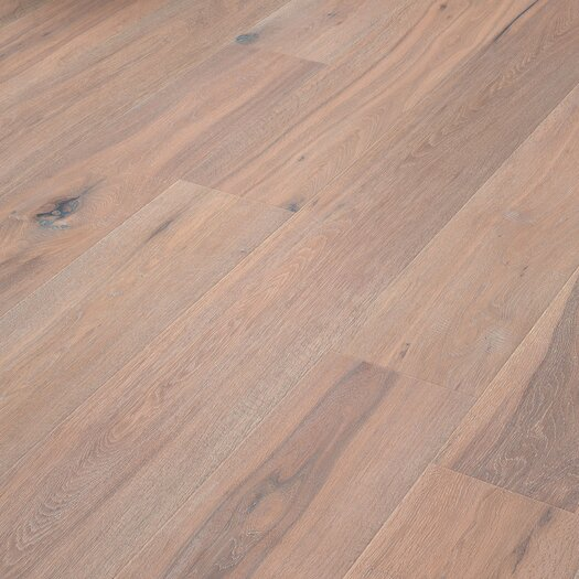 "US Floors Navarre 8-1/2"" Engineered Oak Hardwood Flooring in Aude"