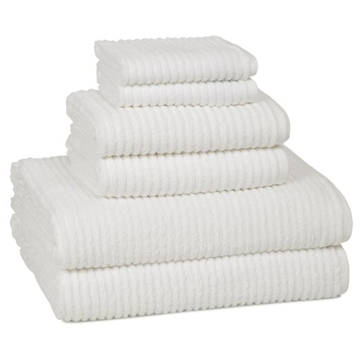 Kassatex Fine Linens Urbane Turkish Cotton 6 Piece Towel Set