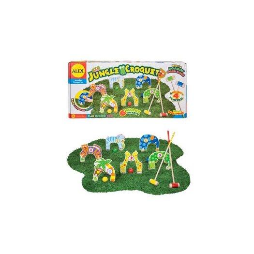 ALEX Toys Jungle Combo Croquet Game Set
