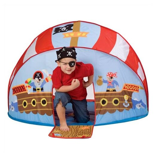 ALEX Toys Let's Pretend Pirate Pop-Up Tent Play Set