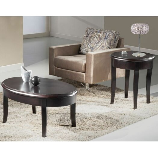 Furnitech Transitional Coffee Table Set