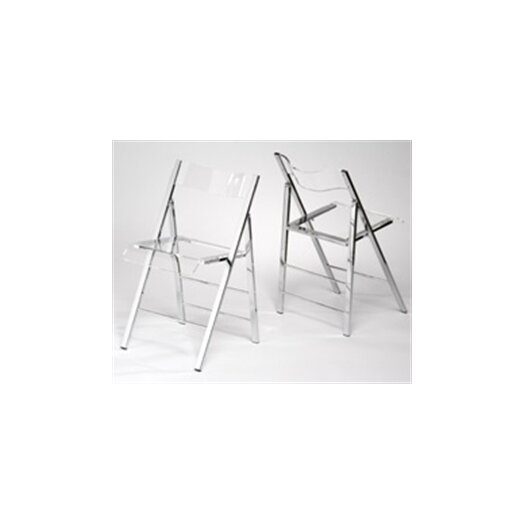 Alston Lucite Folding Side Chair