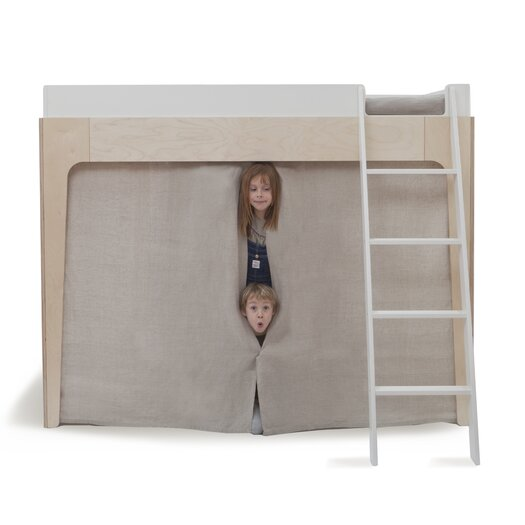 Oeuf Perch Twin over Twin Bunk Customizable Bedroom Set