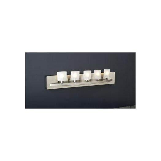 PLC Lighting Wyndham 5 Light Vanity Light