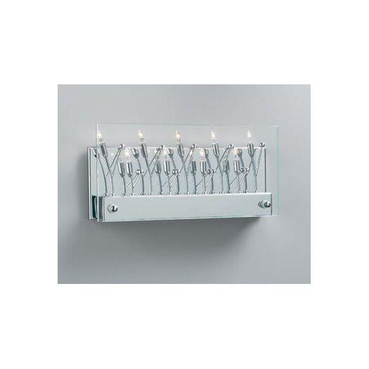 PLC Lighting Lief 9 Light Wall Sconce