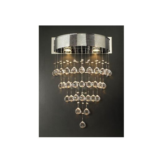 PLC Lighting Beverly 2 Light Pendant
