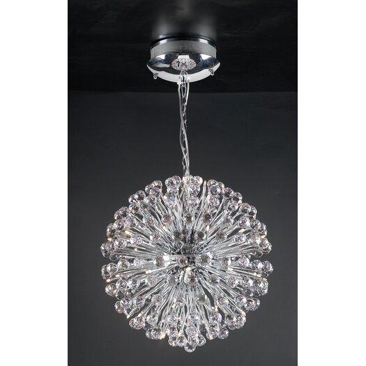PLC Lighting Aspasia 48 Light Globe Pendant