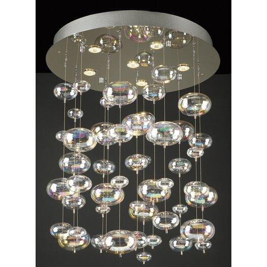 PLC Lighting Bubbles 6 Light Pendant