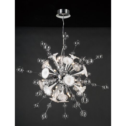PLC Lighting Circus 16 Light Pendant