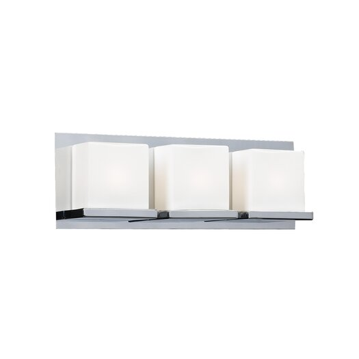 PLC Lighting Furlux 3 Light Bath Vanity Light