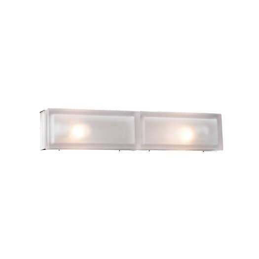 PLC Lighting Praha 2 Light Bath Vanity Light