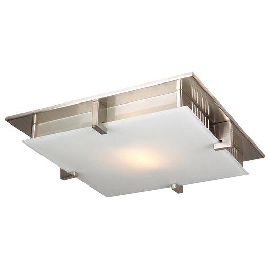 PLC Lighting Polipo Semi Flush Mount
