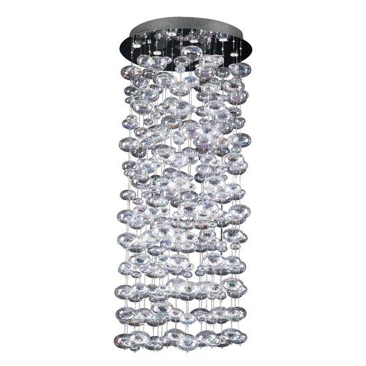 PLC Lighting Bubbles 18 Light Cascade Pendant
