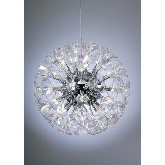 PLC Lighting Martini 36 Light Globe Pendant