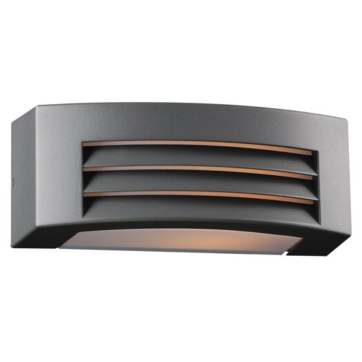 PLC Lighting Luciano 1 Light Outdoor Flush Mount