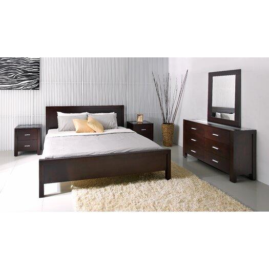 Abbyson Living Azara Panel Customizable Bedroom Set