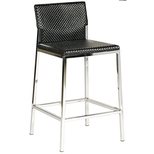 "Bellini Modern Living Avanti 25"" Bar Stool with Cushion"