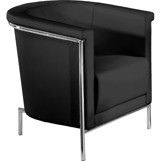 Bellini Modern Living Blanca Leatherette Chair