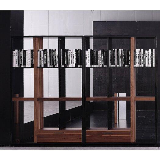 "Bellini Modern Living Quaderna 47"" Standard Bookcase"