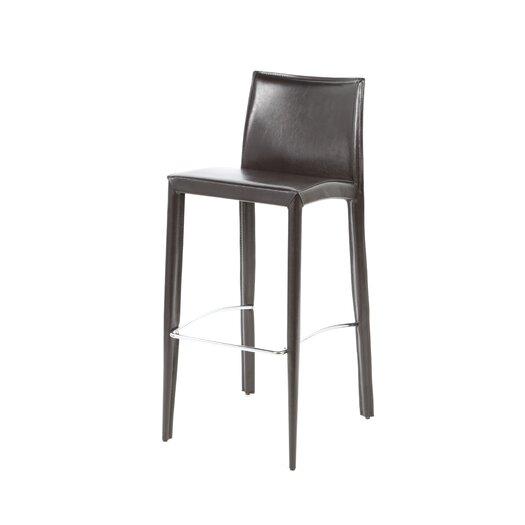 "Bellini Modern Living Manhattan 29"" Bar Stool with Cushion"
