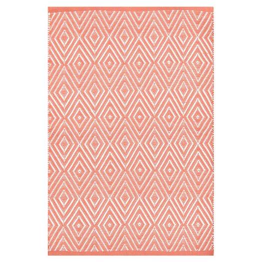 Dash and albert rugs diamond pink indoor outdoor area rug for Albert and dash outdoor rugs