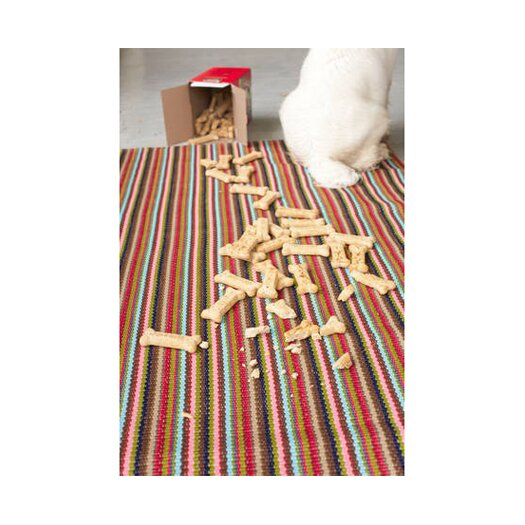 Dash and Albert Rugs Daisy Woven Kitchen Sink Area Rug