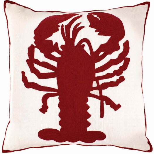 Dash and Albert Rugs Fresh American Lobster Outdoor Dining Chair Cushion