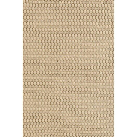 Dash and Albert Rugs Wheat Rope Khaki Indoor/Outdoor Area Rug