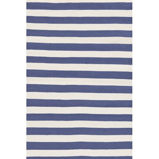Dash and albert rugs indoor outdoor trimaran blue white for Dash and albert indoor outdoor rugs