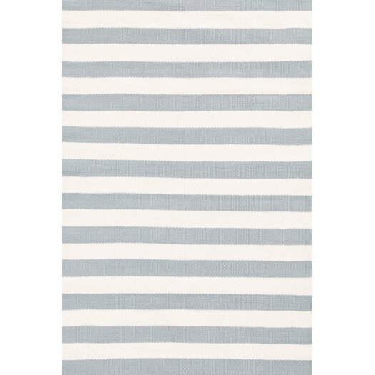 Dash and Albert Rugs Indoor/Outdoor Blue/White Area Rug