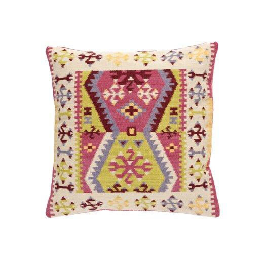 Dash and Albert Rugs Bohemian Wool Euro Pillow