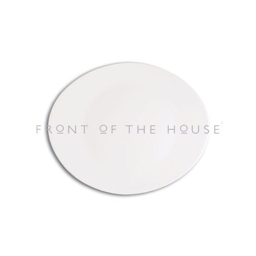 """Front Of The House Ellipse 12"""" Plate"""