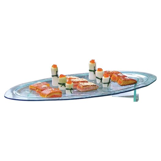 Front Of The House Arctic Oval Platter