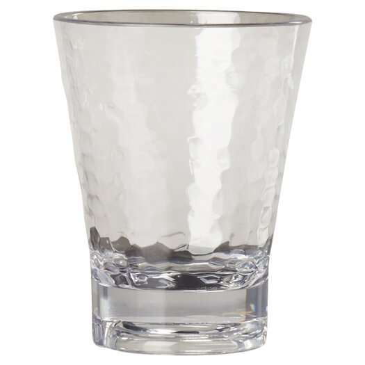 Front Of The House Drinkwise Hammered Rock Glass