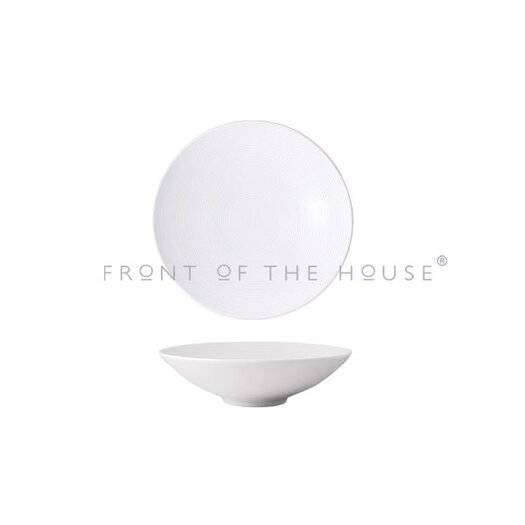 Front Of The House Spiral 48 oz. Wide Bowl